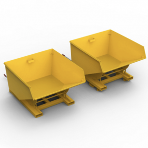 750 Litre Economy Tipping Skip in 3mm Steel