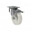 100mm Braked Heavy-Duty Swivel Castor (White Nylon)